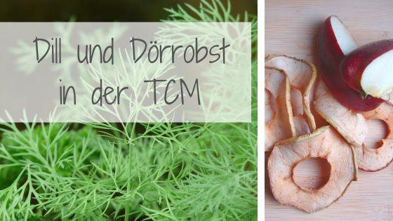 Dill Dörrobst TCM Pferd Traditionelle Chinesische Medizin